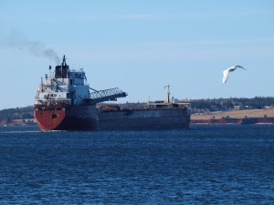 CSL Superior leaving Charlottetown